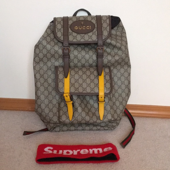 bfc7ed37b0cf Gucci Bags | Soft Gg Supreme Backpack | Poshmark